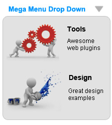 Mootools Mega Drop Down Menu