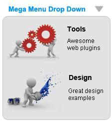 Mootools Mega Drop Down Menu