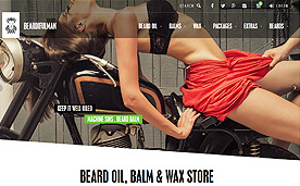 BEARDIFULMAN · Beard Oils, Balms & Waxes · Beard Care Products