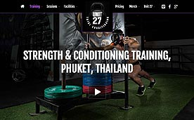 Unit 27 - Strength and Conditioning Gym Phuket Thailand